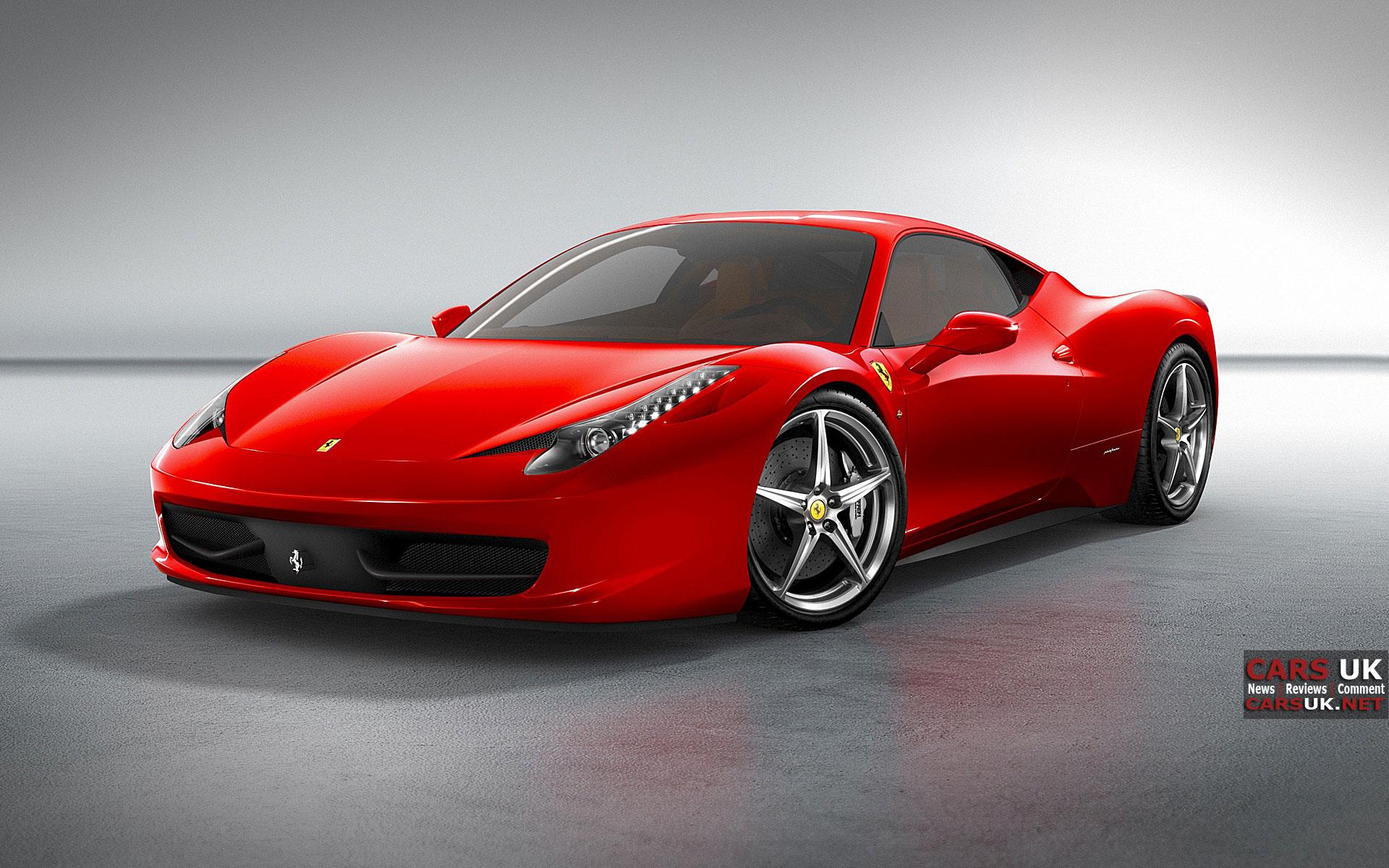 Ferrari 458 Italia Wallpapers for Widescreen Monitor 1920x1200