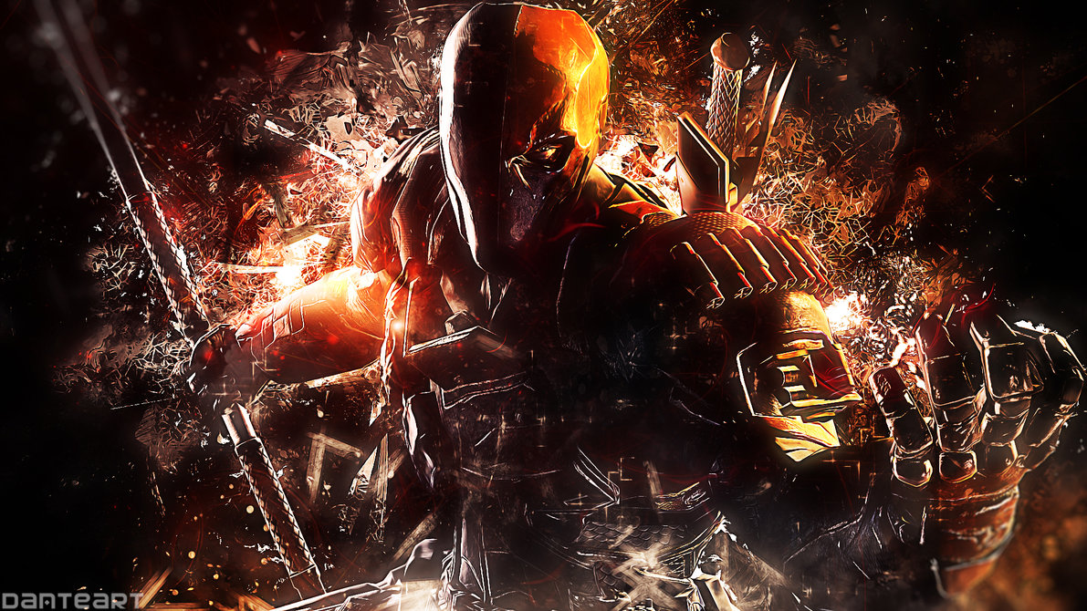 Batman Arkham Origins Deathstroke Wallpaper by DanteArtWallpapers on 1191x670