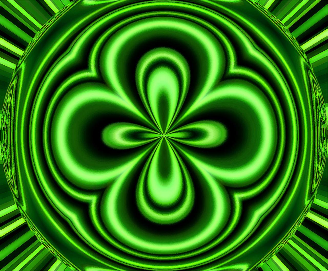 Four Leaf Clover Desktop Wallpaper Download