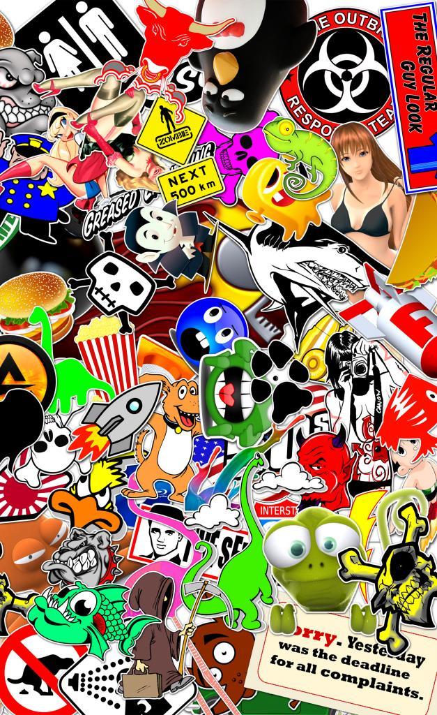 45 Jdm Sticker Bomb Wallpaper On Wallpapersafari