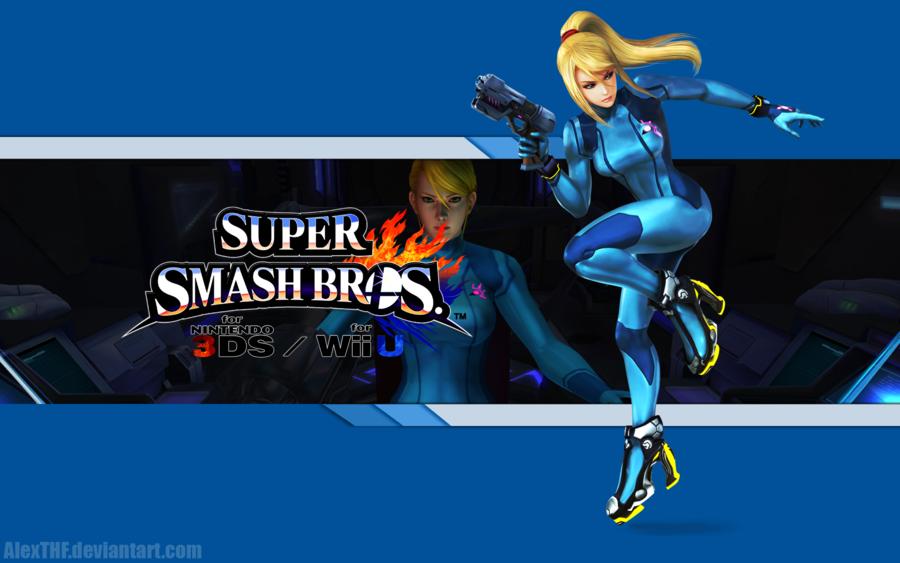 45 Super Smash Bros Samus Wallpaper On Wallpapersafari