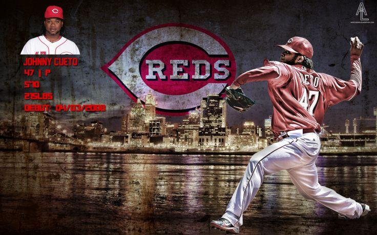 CINCINNATI REDS mlb baseball 19 wallpaper background 736x460