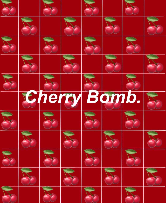 Free Download Cherry Red Wallpaper Edit Wallpaper Emoji
