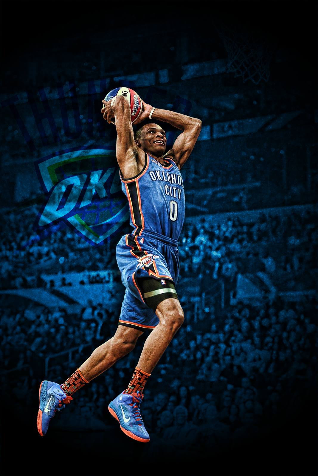 Russell westbrook wallpaper iphone wallpapersafari - Russell Westbrook Wallpaper Slam Dunk Cute Wallpapers
