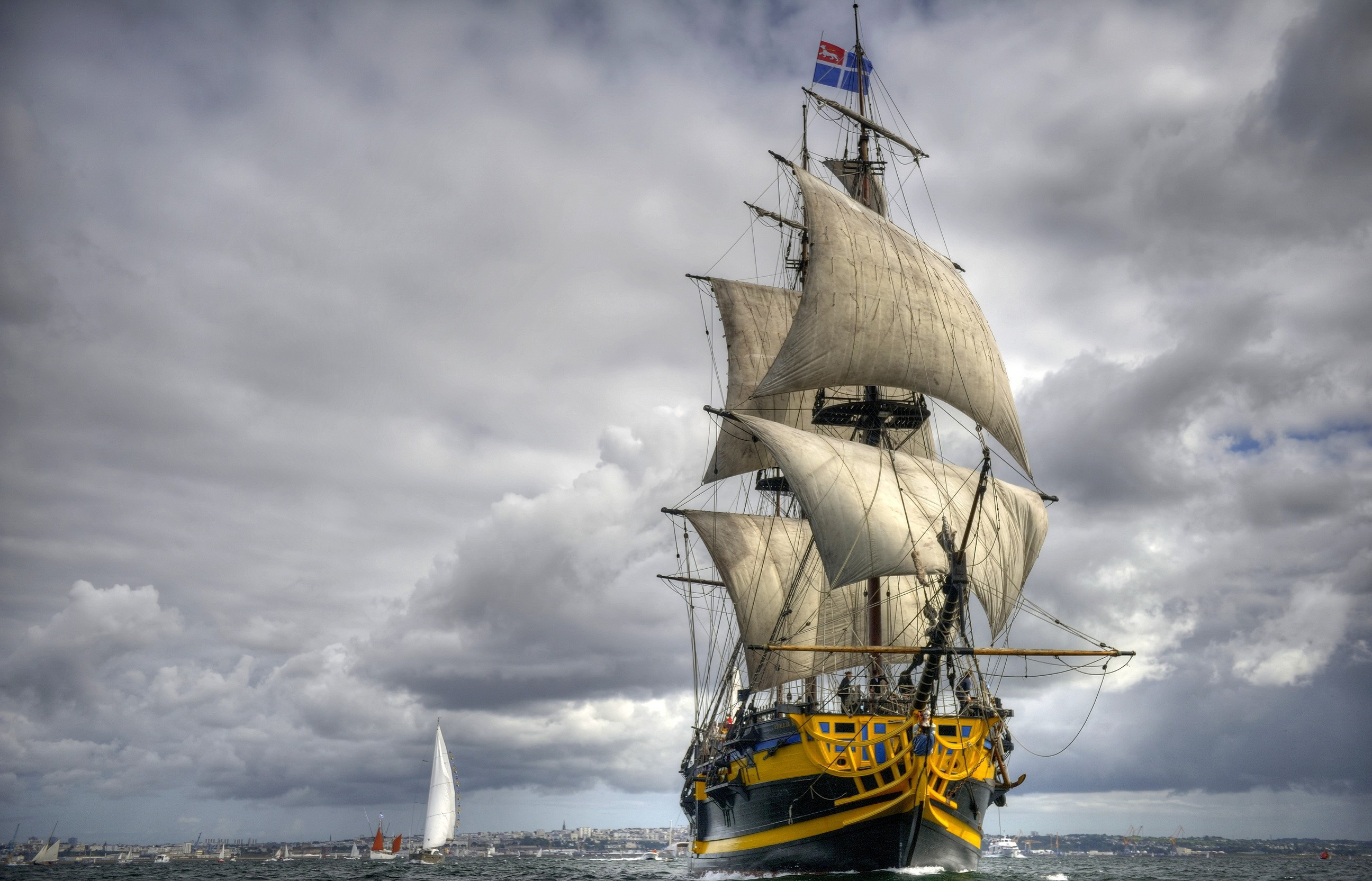 69 Tall Ship Wallpapers on WallpaperPlay 2592x1665
