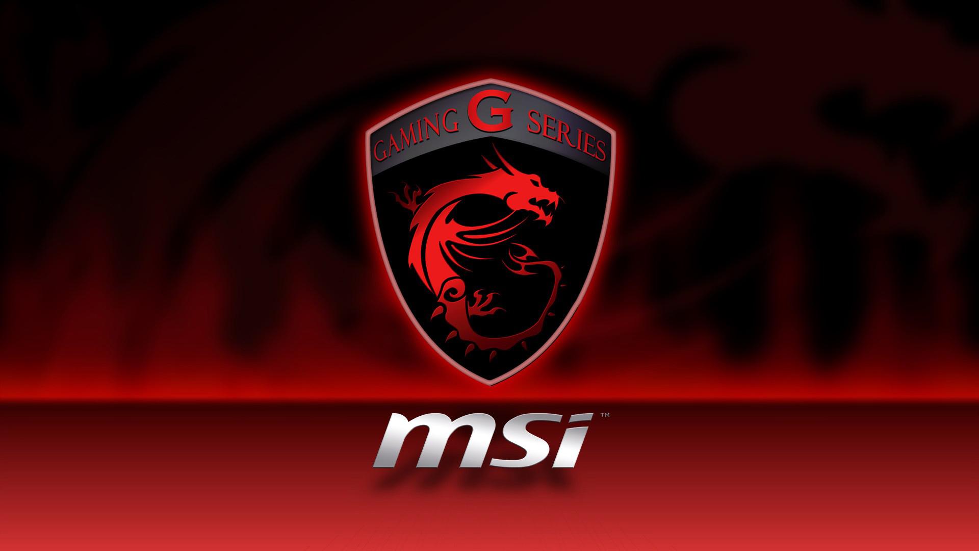Msi g series wallpaper notebookreview - Msi Gaming G Series Dragon Logo Hd 1920x1080 1080p Wallpaper