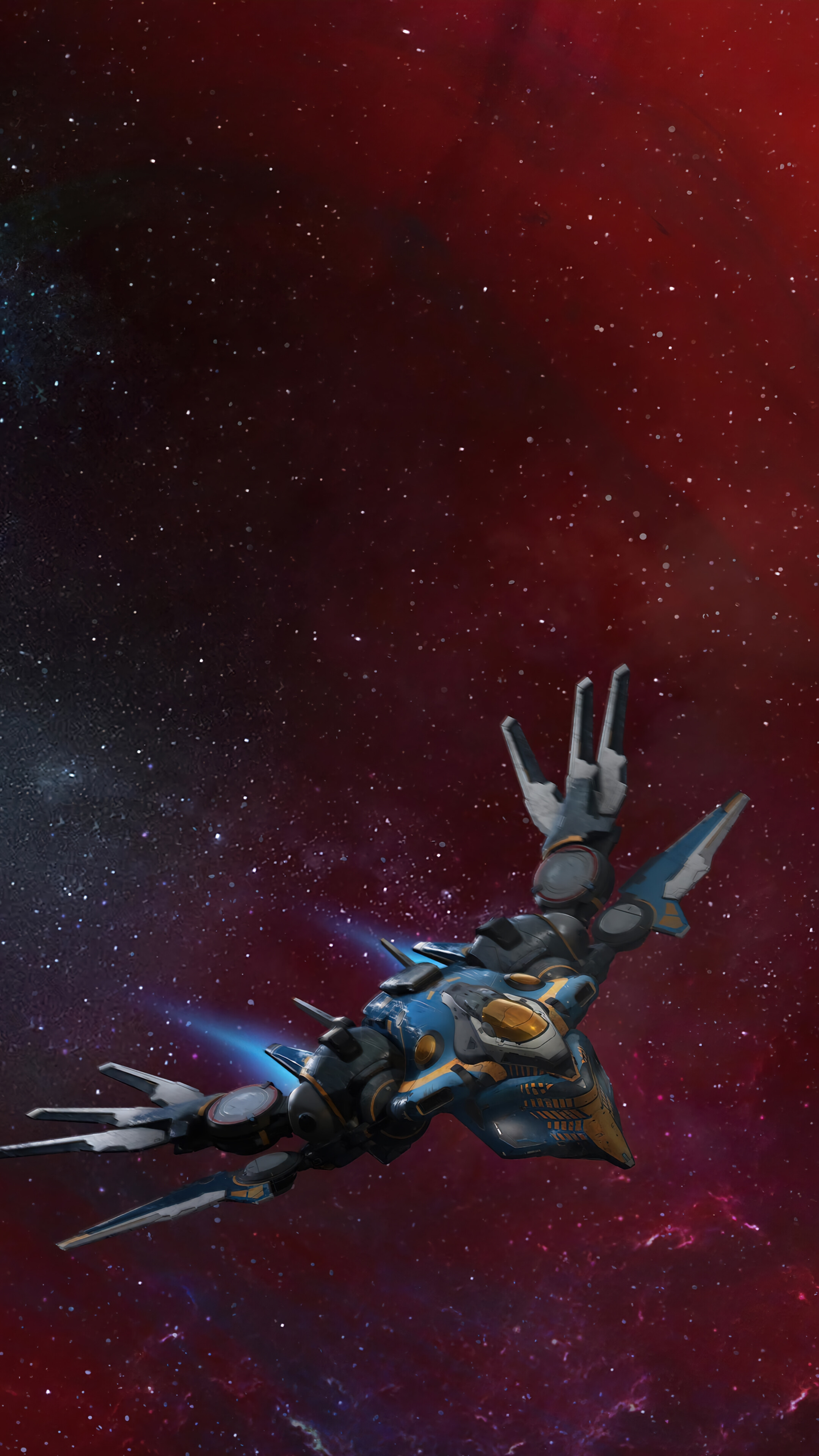 Marvels Guardians of the Galaxy Spaceship 4K Phone iPhone 2160x3840