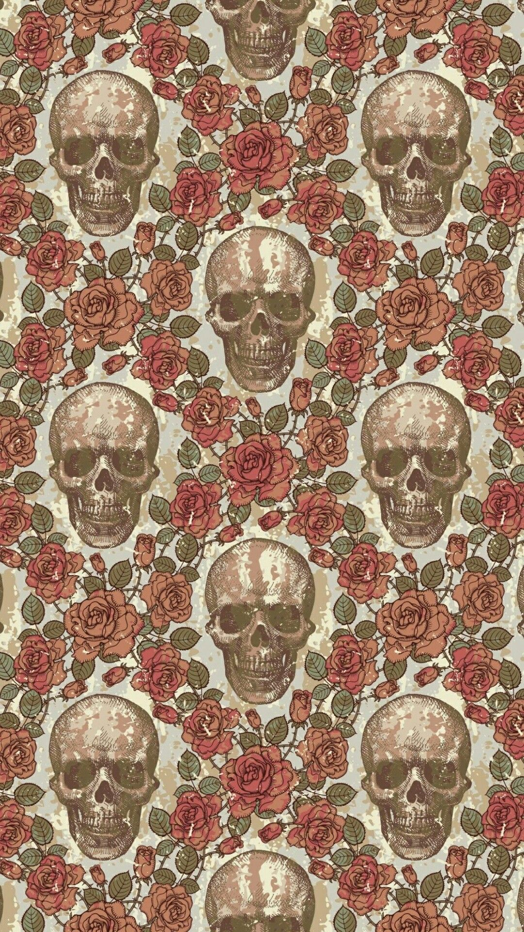 Pin by Ammie Asklund on My apple decor in 2019 Skull wallpaper 1080x1920