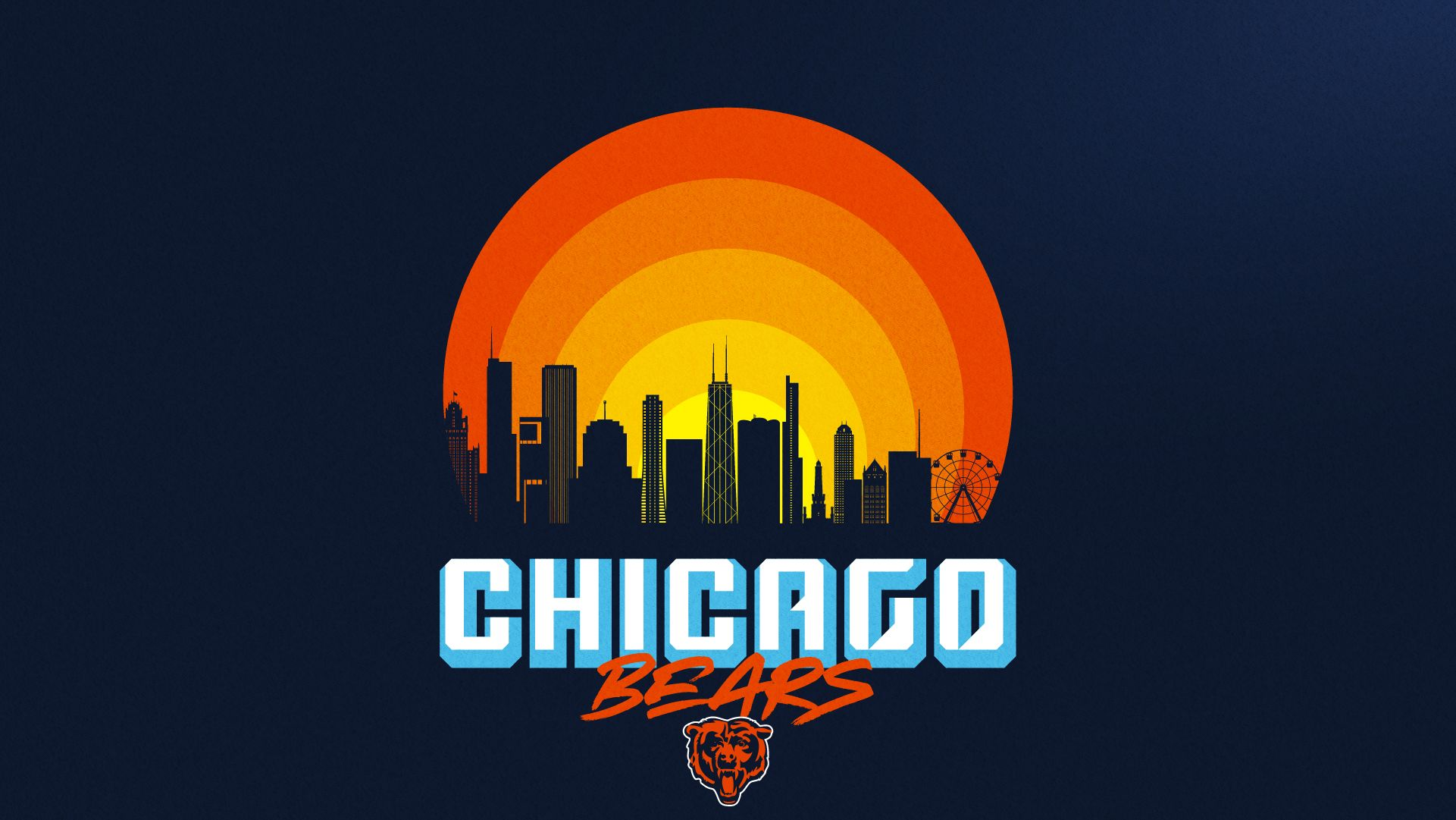 Wallpapers Chicago Bears Official Website 1921x1081