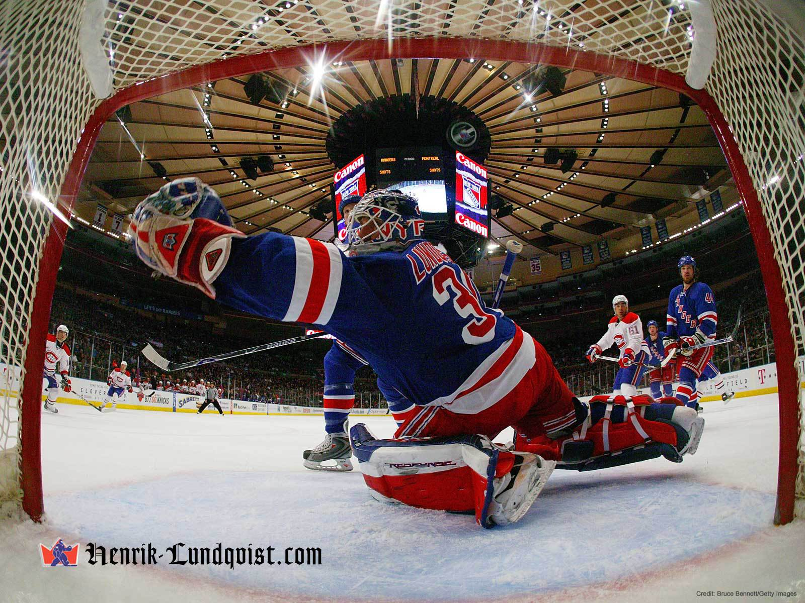 Best Hockey player New york rangers Henrik Lundqvist wallpapers and