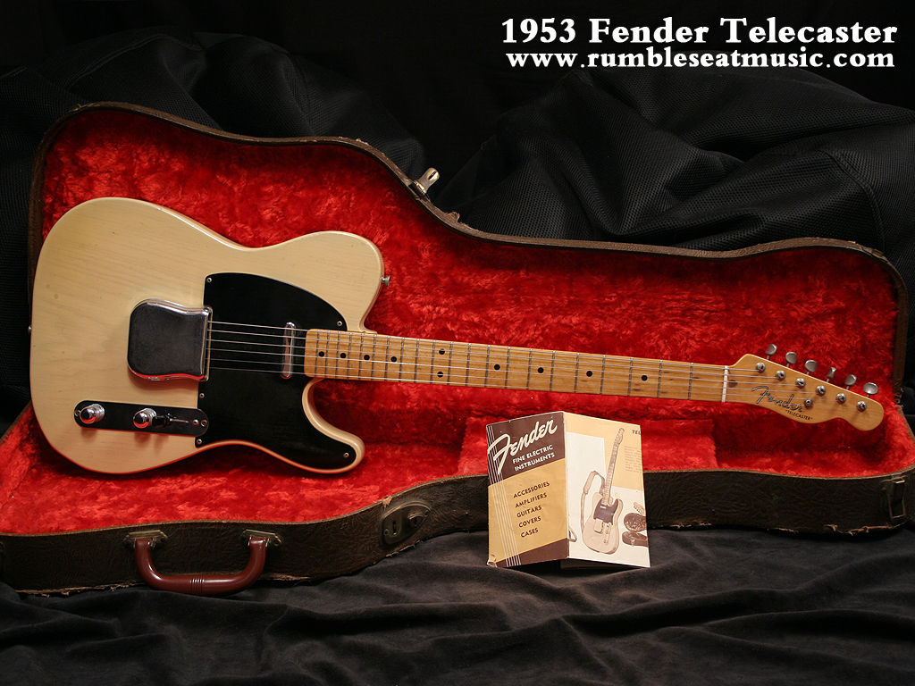 Fender telecaster guitar   Fender Telecaster Guitar From 1953 Years 1024x768