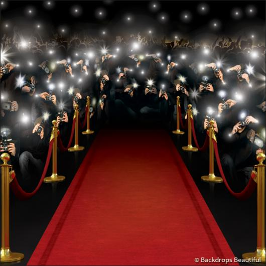 Hollywood Red Carpet Backdrop Backdrops paparazzi digital 1 530x530