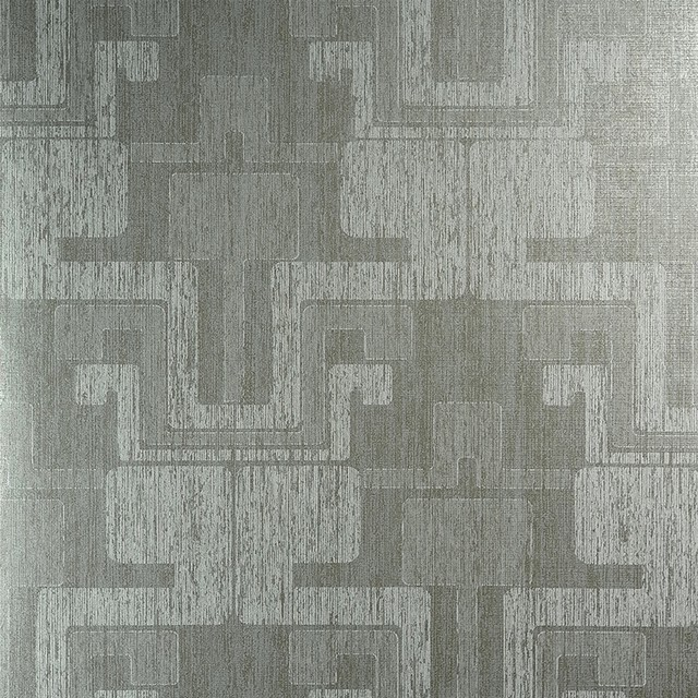 Geometric Grey and White Wallpaper R3904   Roll contemporary wallpaper 640x640