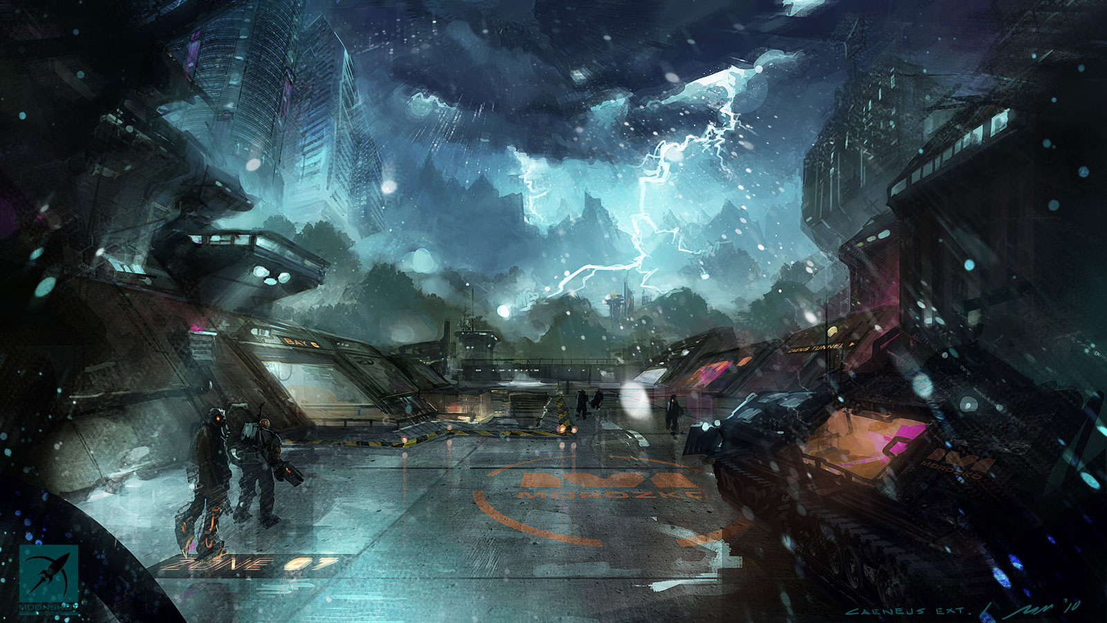 Sci fi Wallpaper of the week 39   Concept art Sci fi Videogames 1600x900