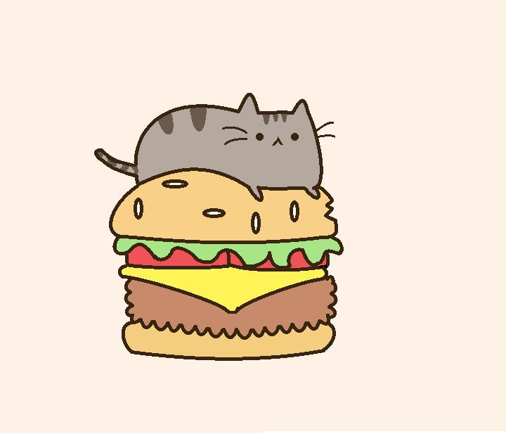 Pusheen Mustache Pusheen the cat by 720x617