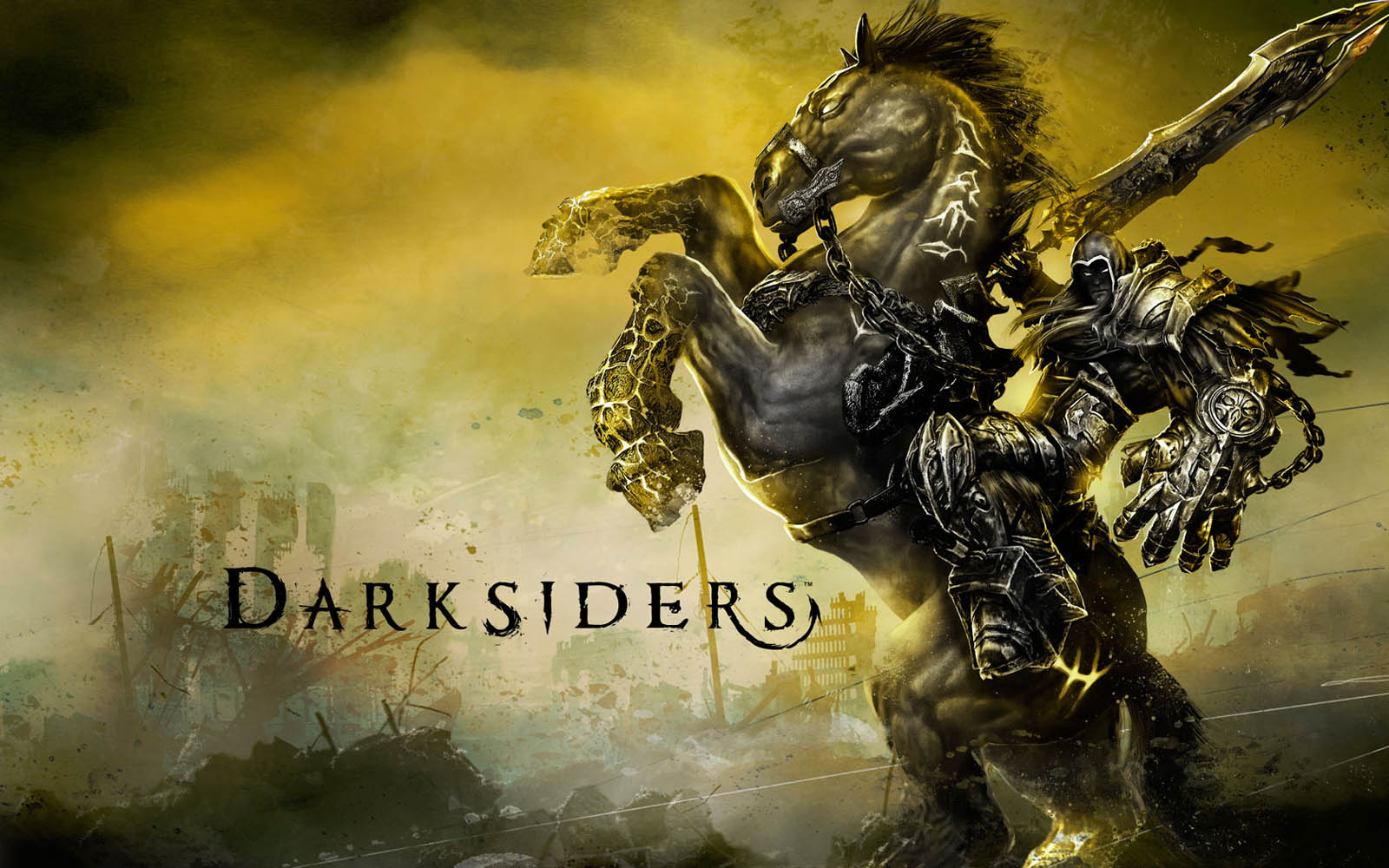 wallpapers Darksiders Game Wallpapers 1600x1000