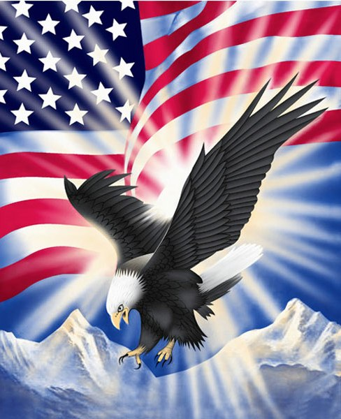 49 American Flag Eagle Wallpaper On Wallpapersafari