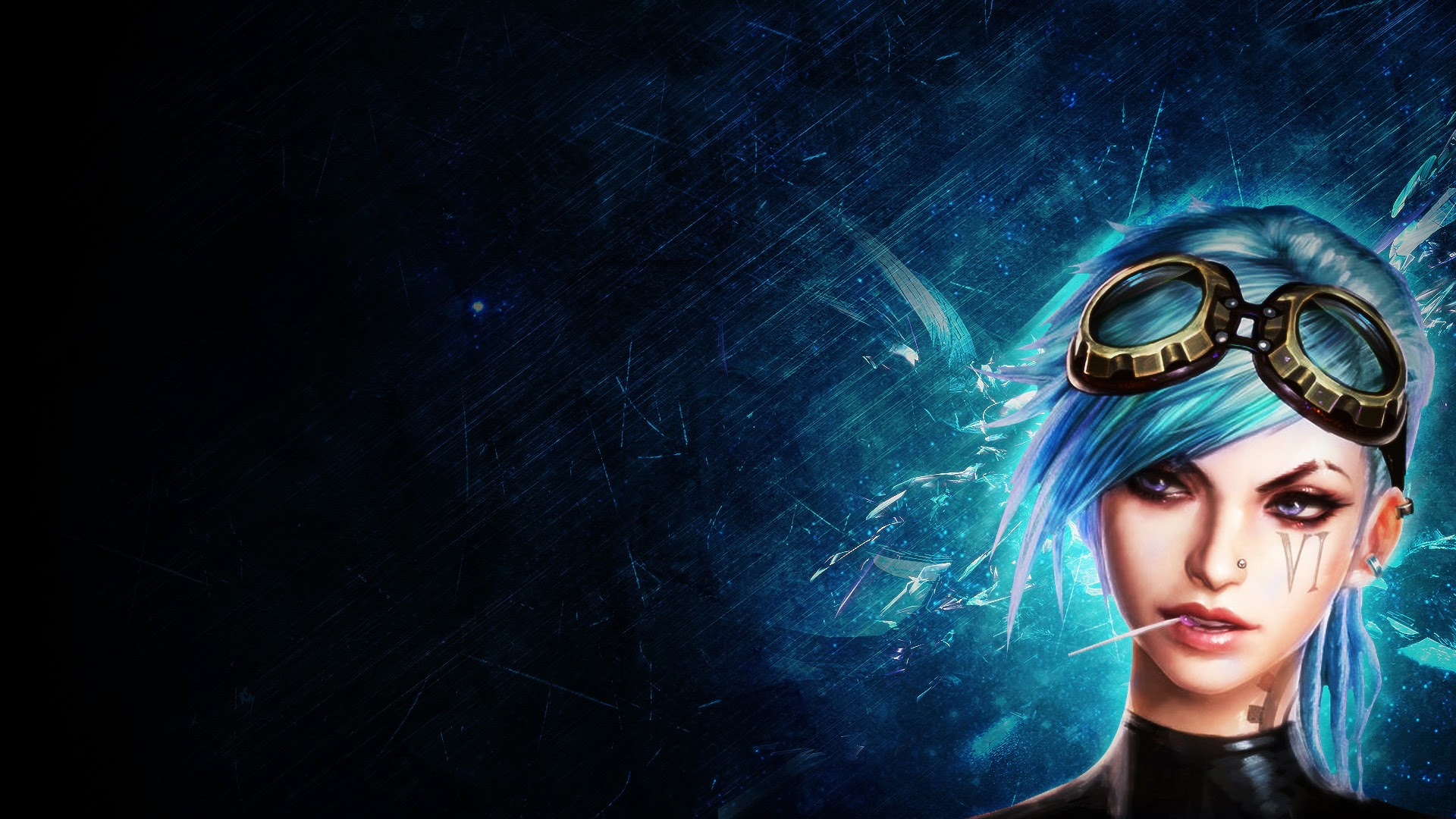 Free Download Vi League Of Legends Lol Girl Champion Hd Wallpaper