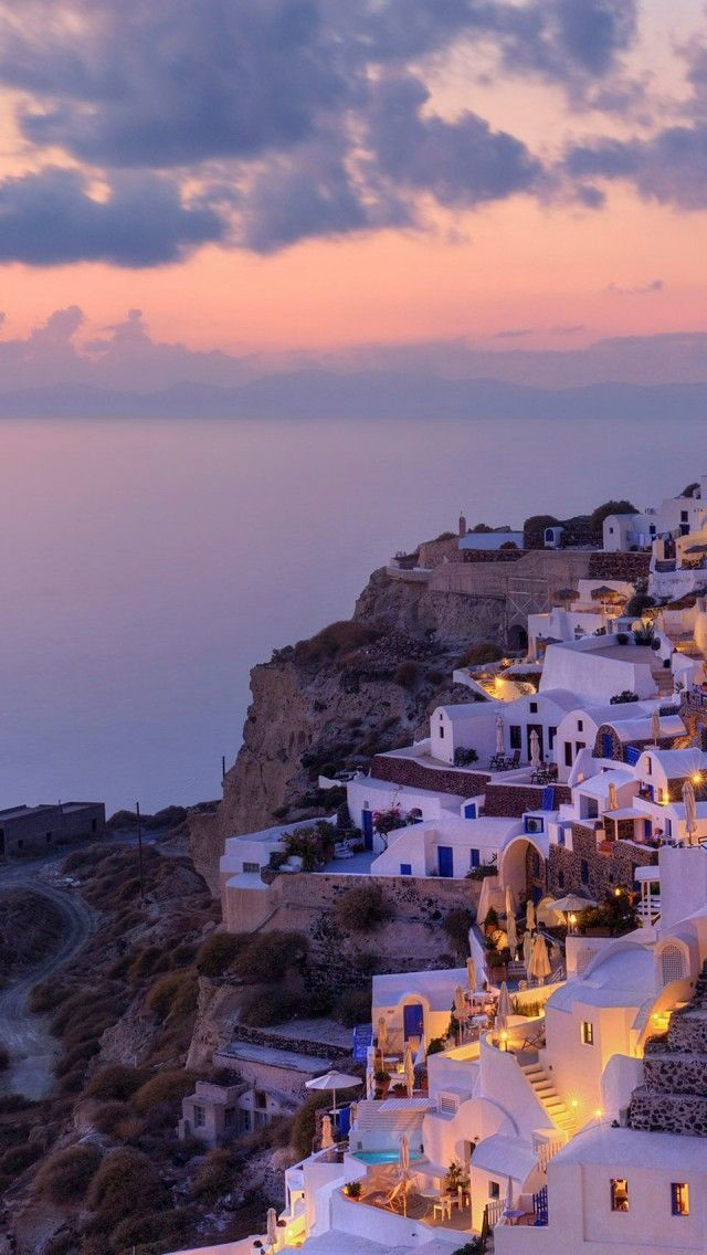 Beautiful Greece Harbor Corner MacBook Pro Wallpaper HD 640x1136