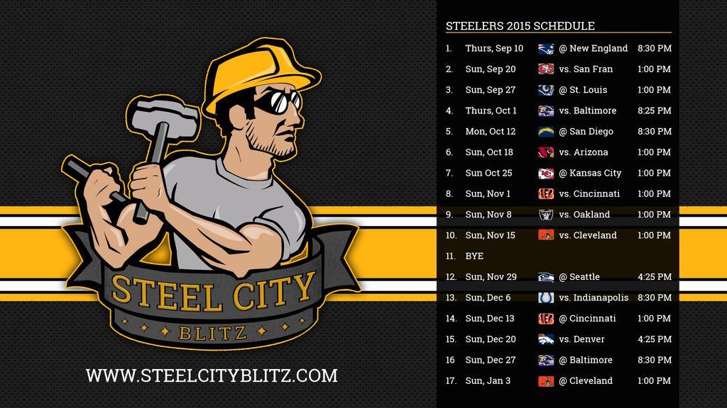 Steelers Wallpapers   Steel City Blitz 1024x576