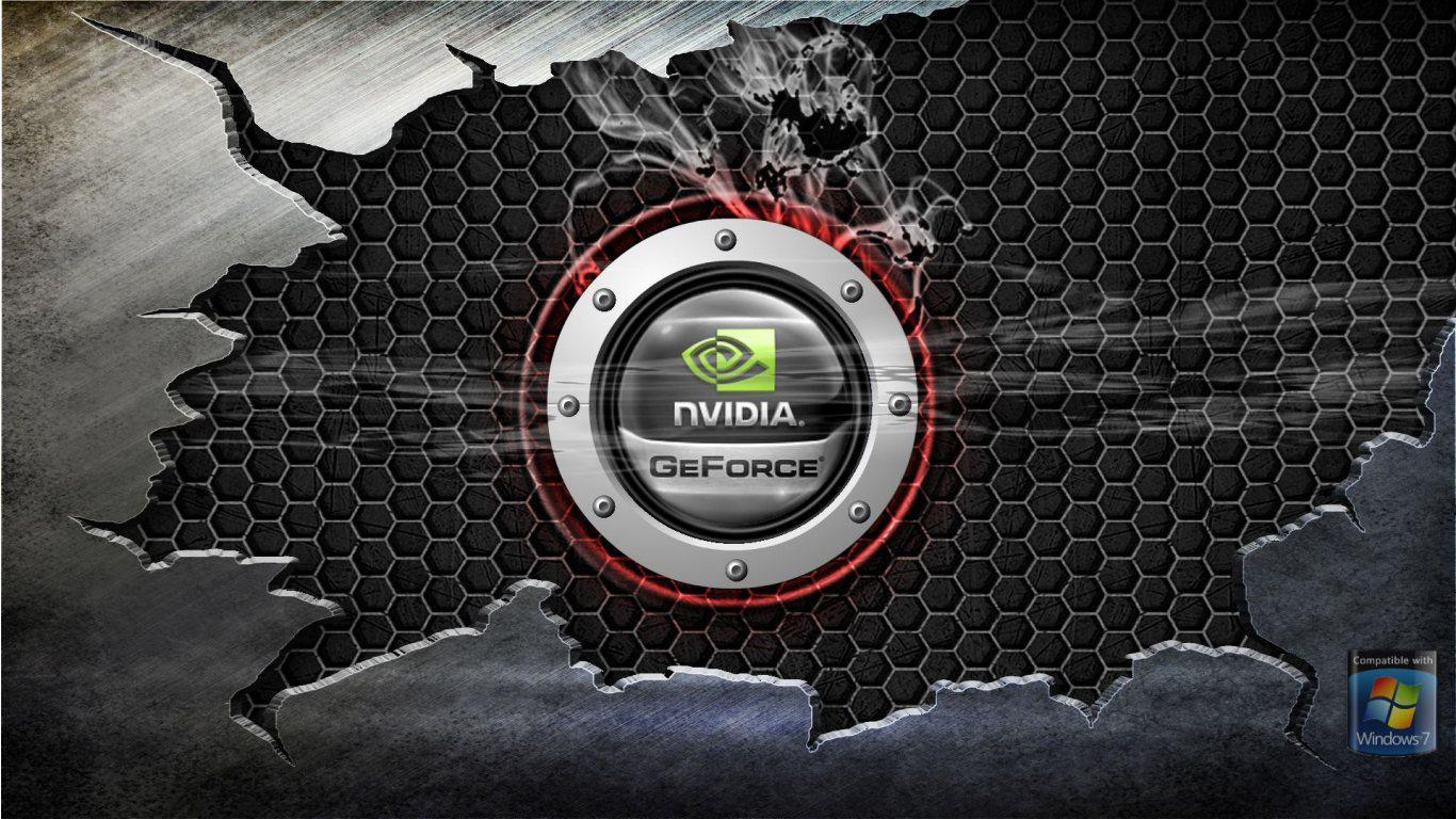 nVidia GeForce HD Wallpapers Slwallpapers 1366x768