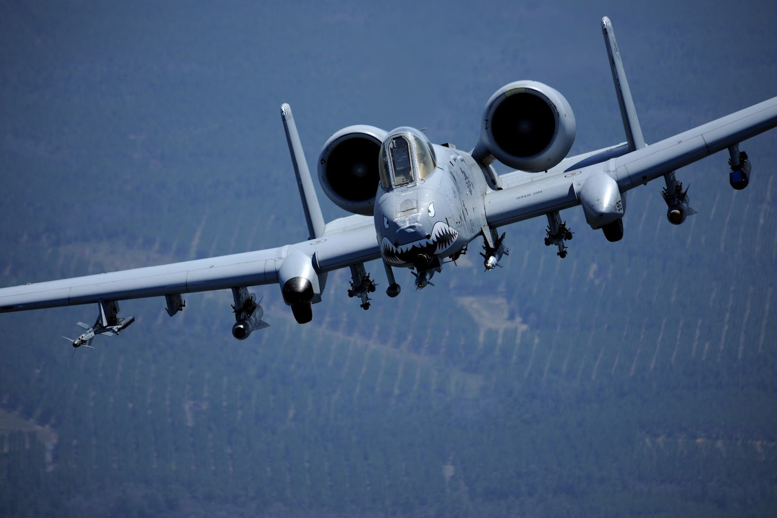 Fairchild Republic A10 Thunderbolt as Warthog Aircraft Wallpaper 2822 1600x1067