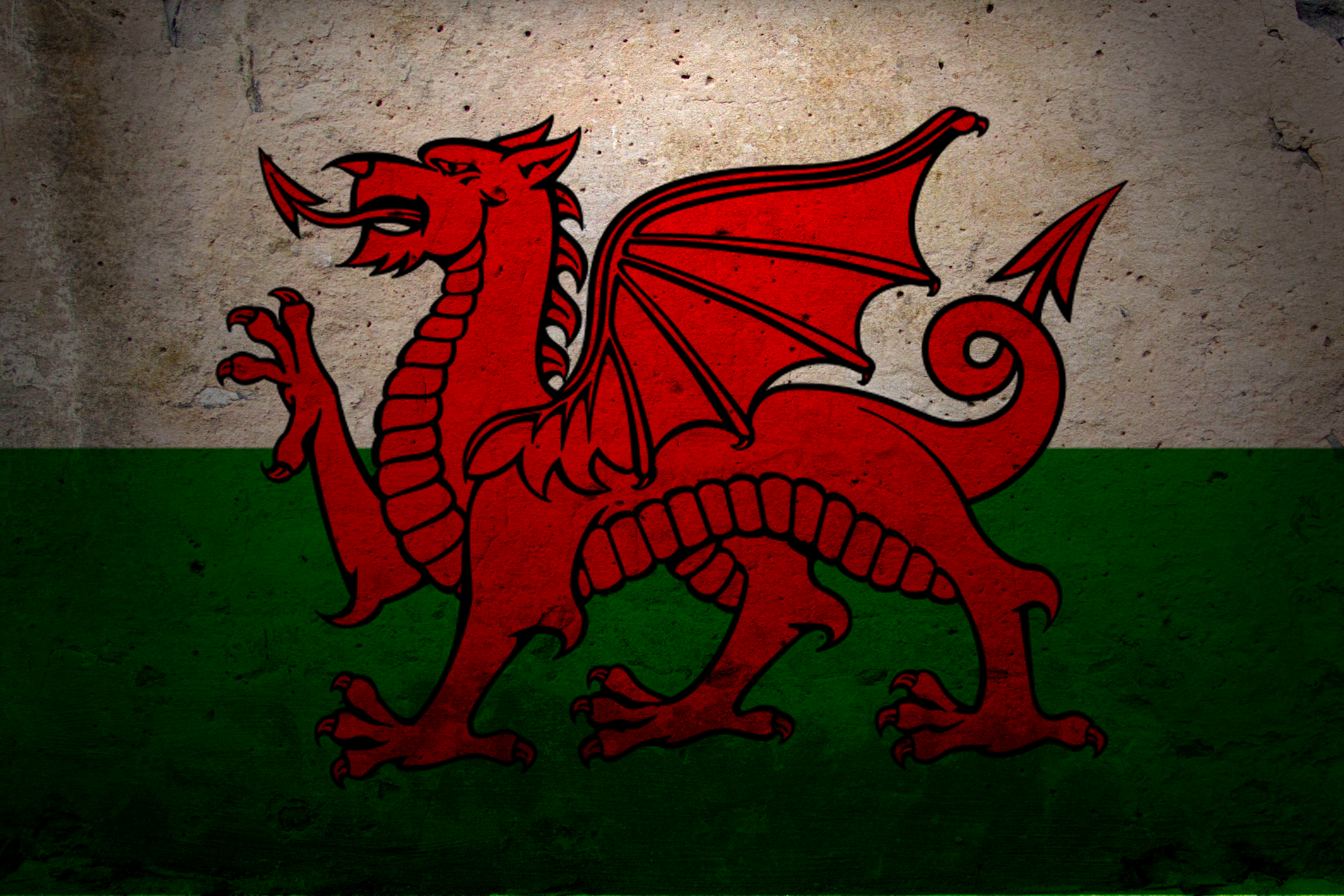 Flag Of Wales HD Wallpaper Background Image 2560x1707 ID 2560x1707