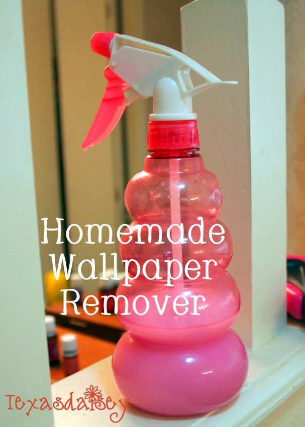 Recipe for homemade wallpaper remover and instructions to remove it 607x850