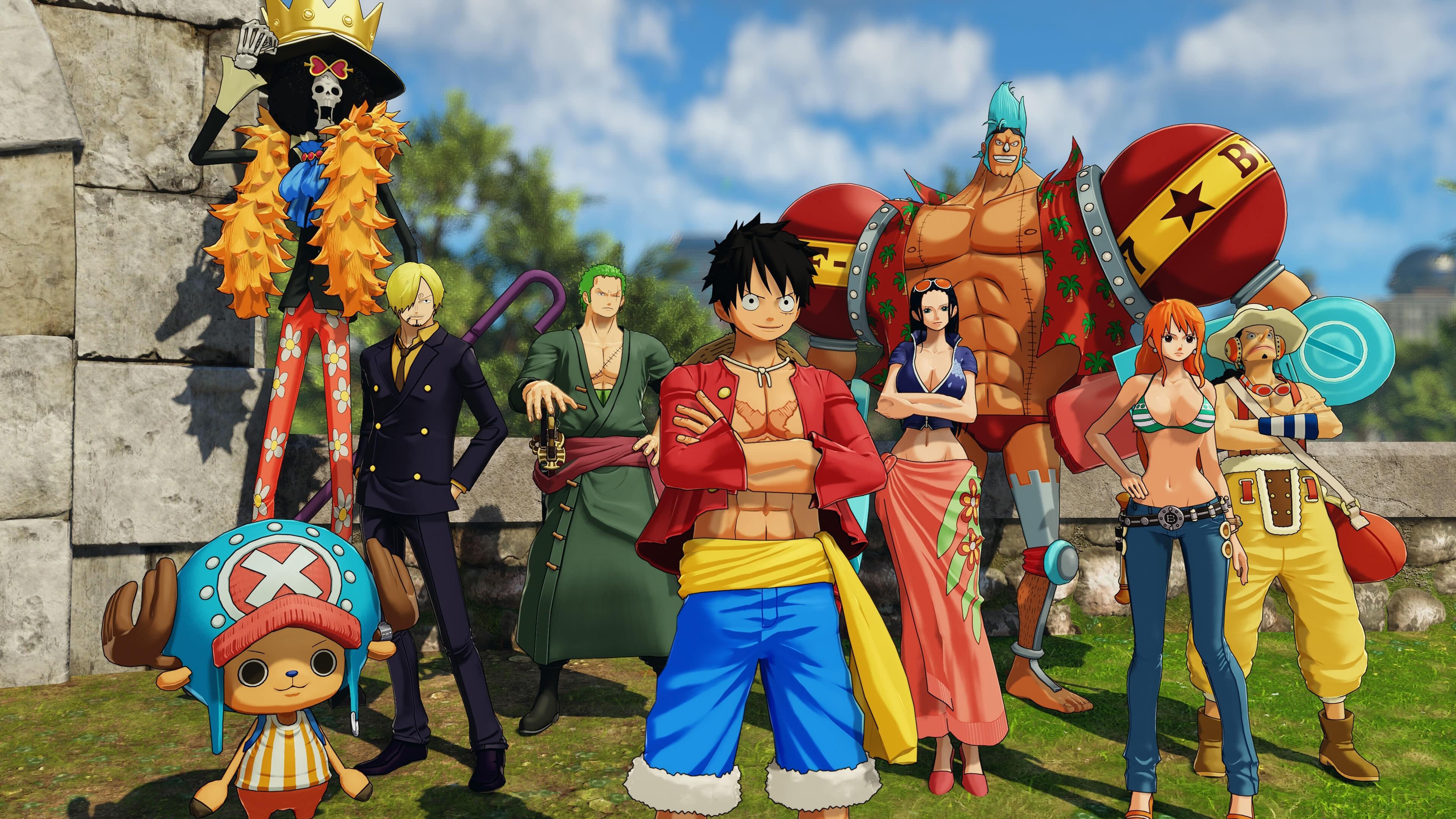 One Piece World Seeker Characters UHD 4K Wallpaper Pixelz 3840x2160
