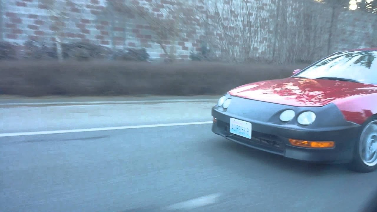 Ej1 GSR vs integra Ls V 1st run 10 mph roll 1920x1080