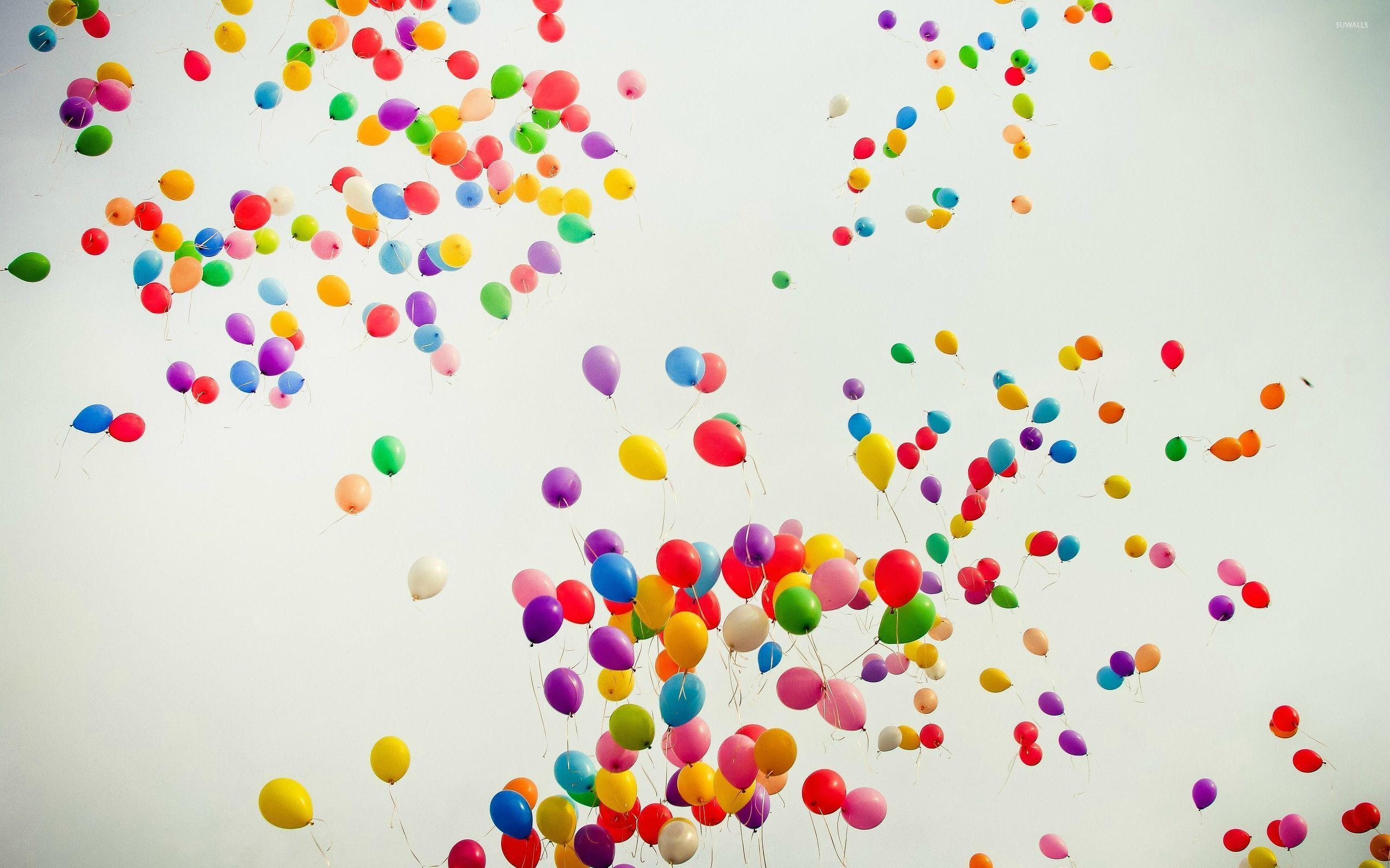 New Year Balloons High Definition Wallpaper 27255   Baltana 2560x1600