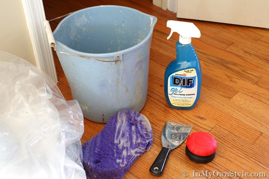 Supplies needed to remove wallpaper the easy way 550x367