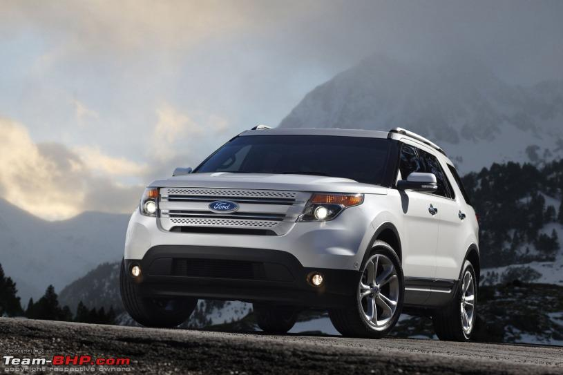 Cars Wallpapers and Images Ford 2012 New Endeavour 815x543