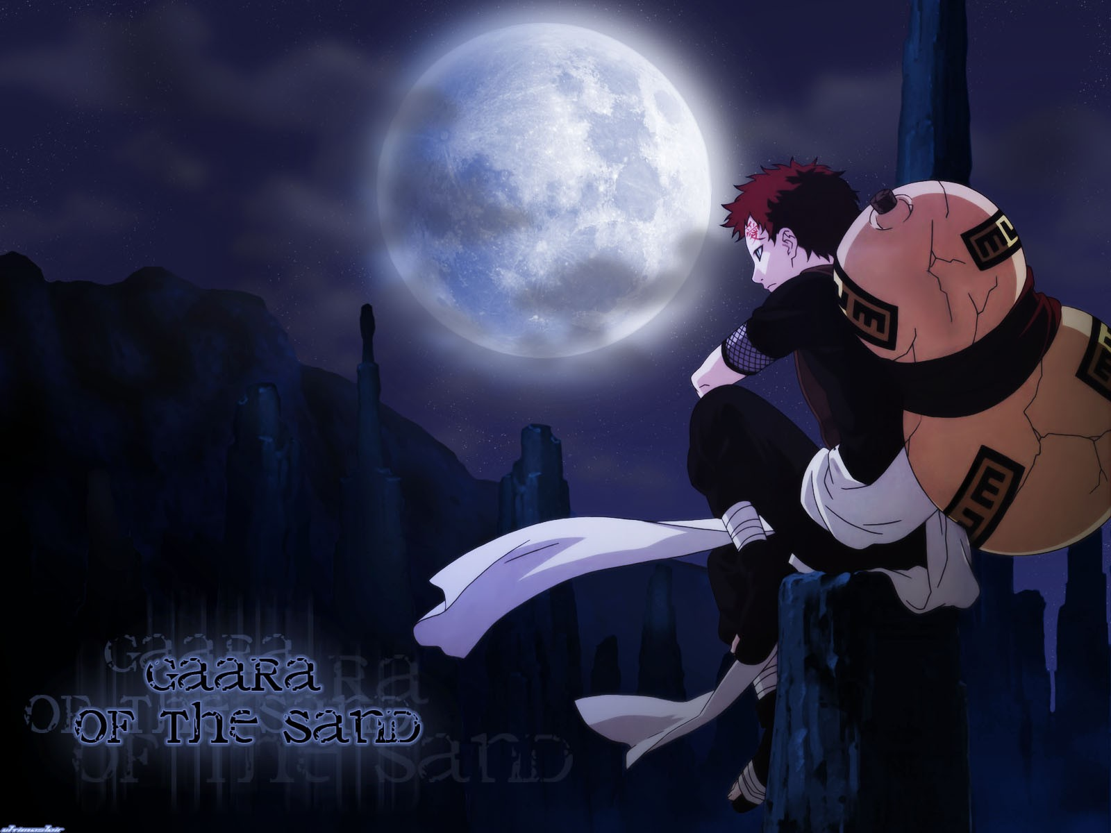 Gaara Anime Wallpaper Wallpaper WallpaperLepi 1600x1200