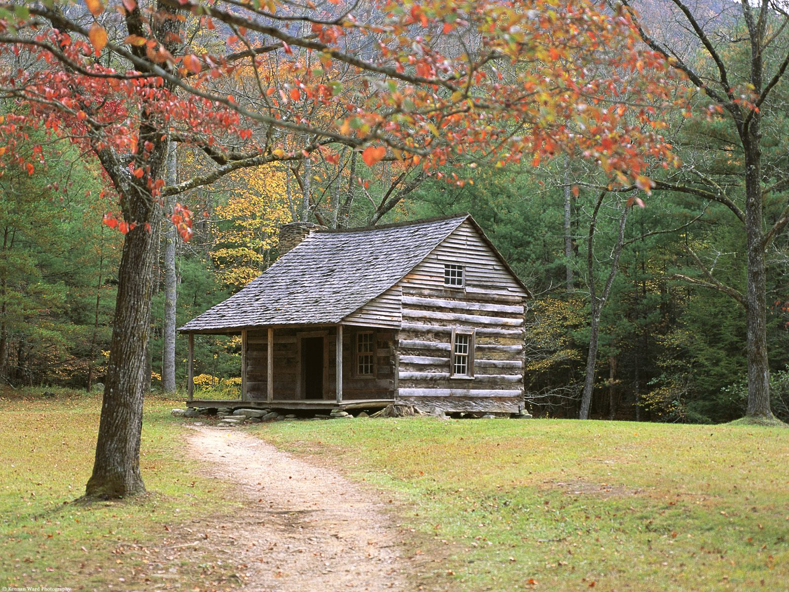 Nature 1   Historic Log Cabin in the Smoky Mountainsjpg 1600x1200