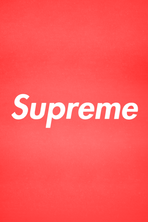2nd Supreme Retina iPhone Wallpaper made by me 500x750