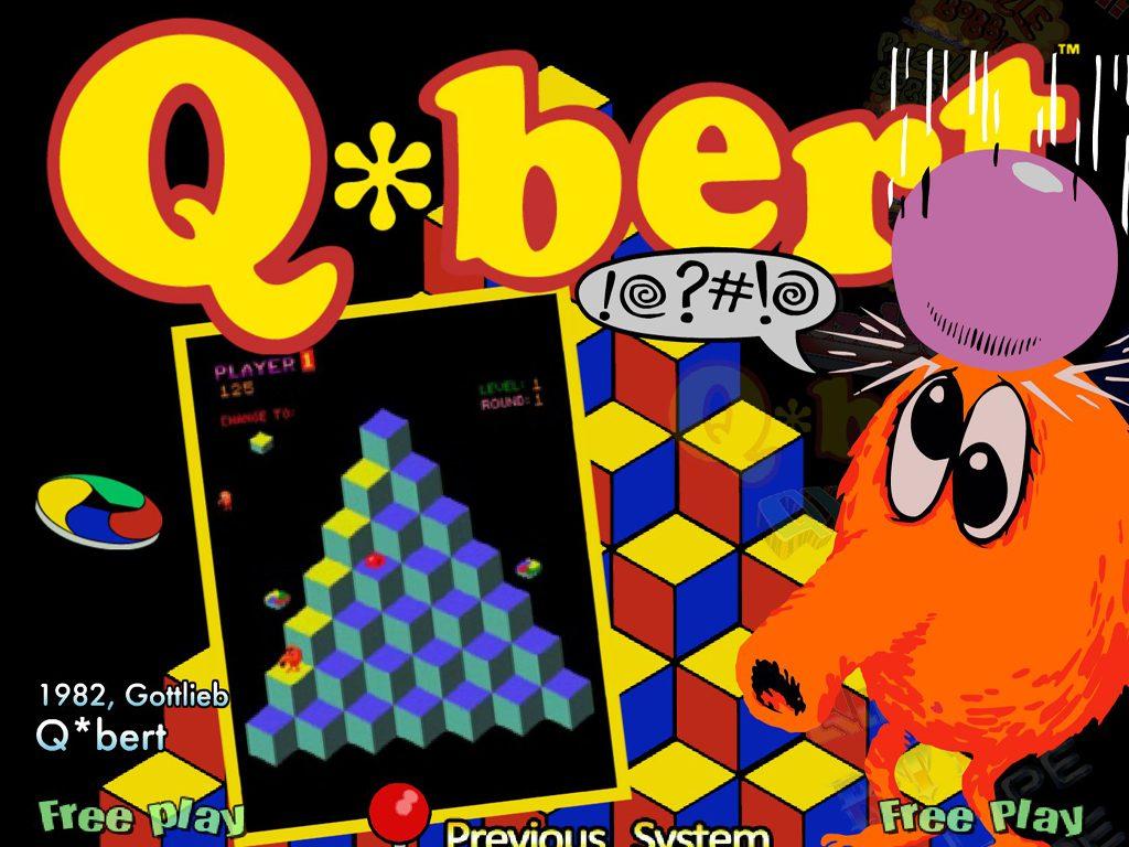 Qbert Rebooted HD Wallpaper 28   1024 X 768 stmednet 1024x768