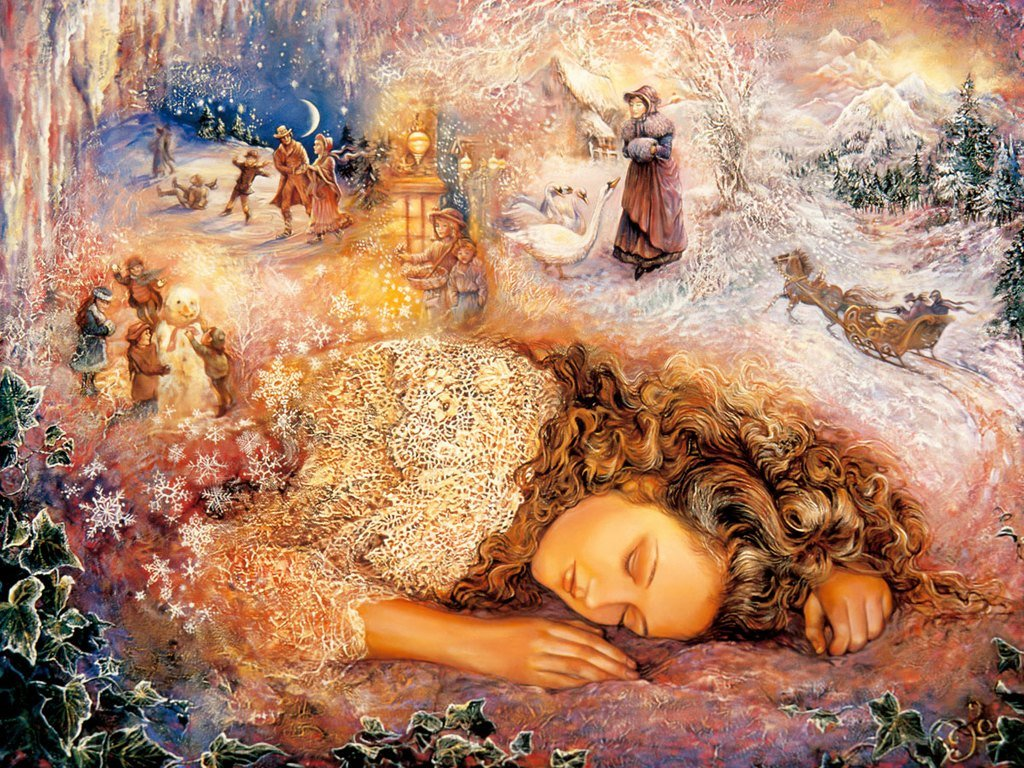 Josephine Wall Fantasy art painting   Art Paintings 1024x768
