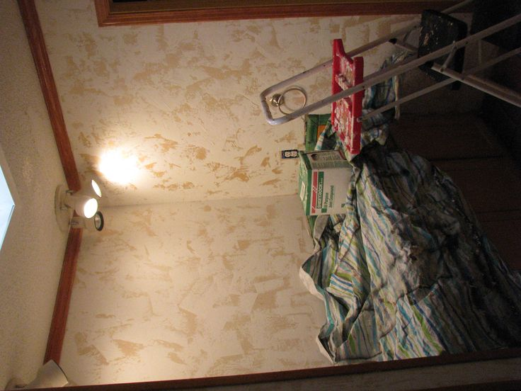 How to Hand Plaster Walls to Cover Over Wallpaper or damaged walls 736x552
