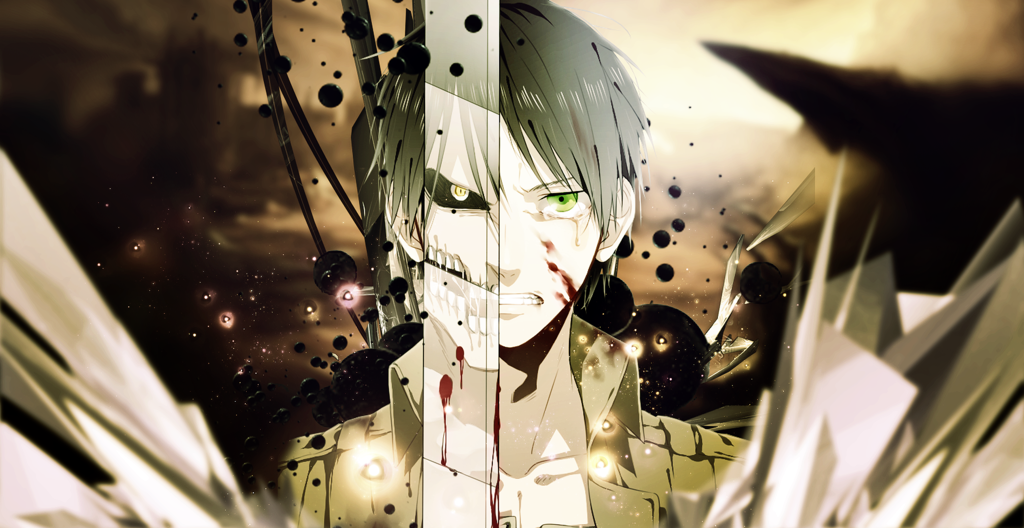 Eren Jaeger]Shingeki no Kyojin Wallpaper by lKoizumil 1024x528
