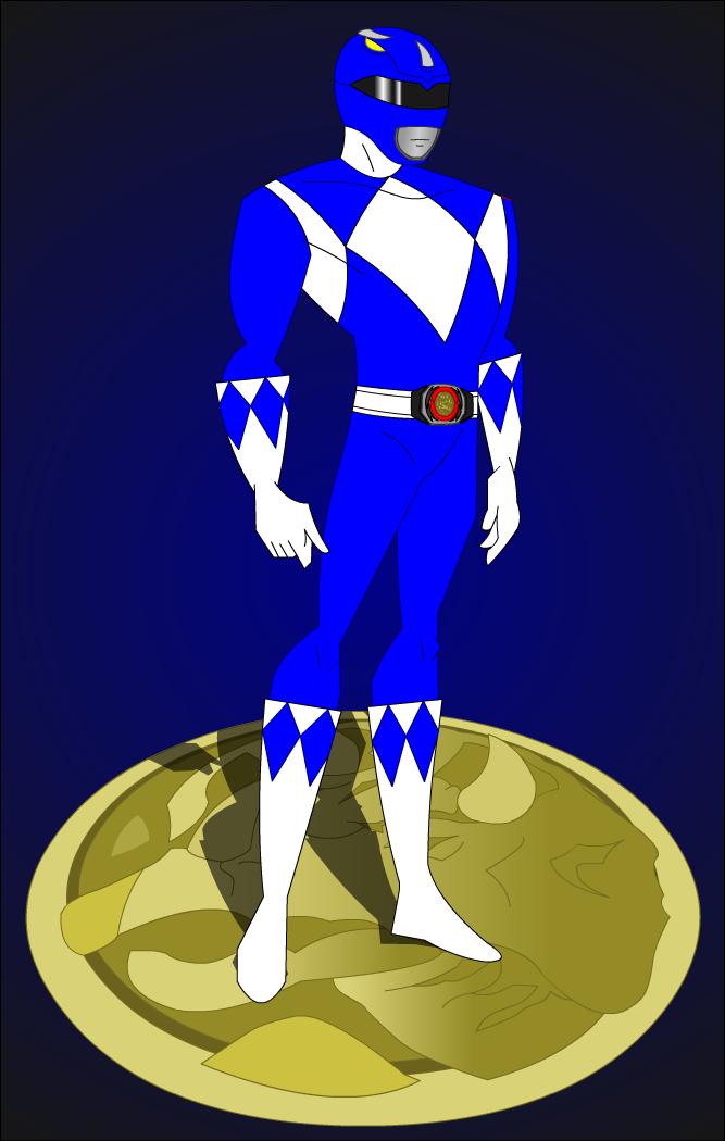 Blue Power Ranger Wallpaper Wallpapersafari