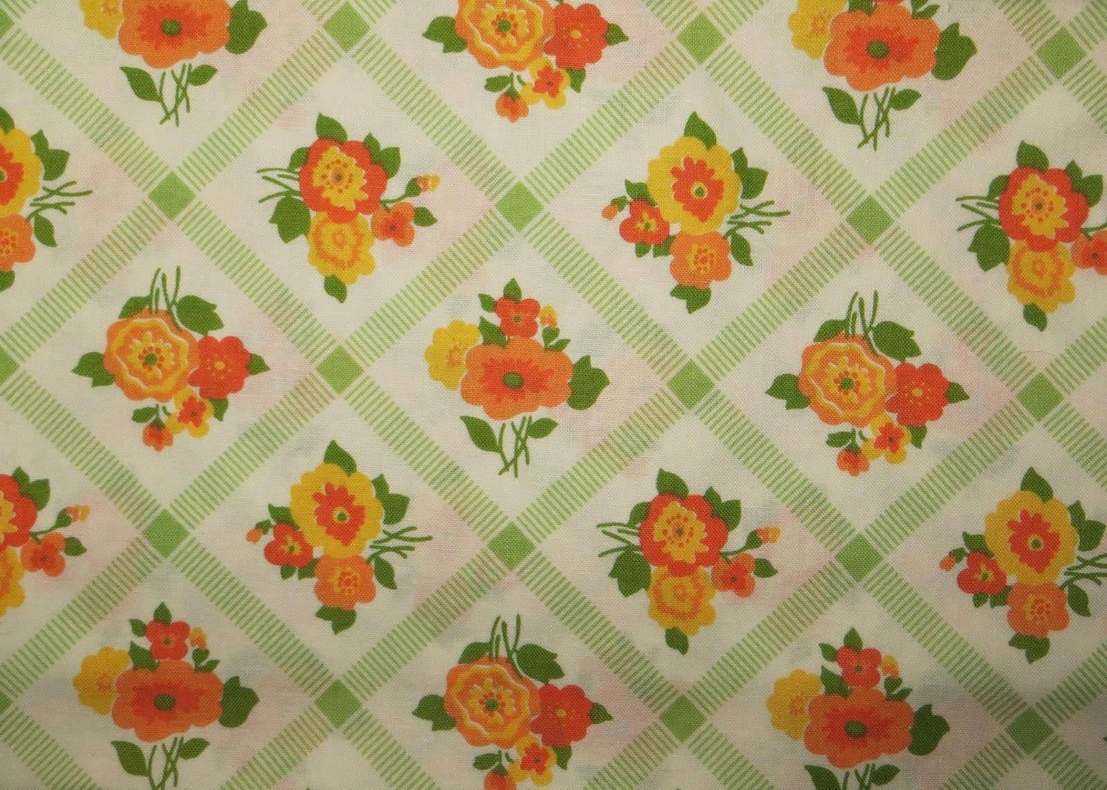 Vintage Kitchen Design Fabric
