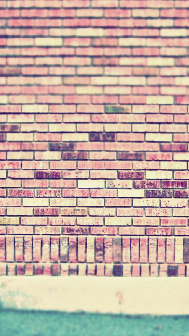 Vintage wall iPhone 5s Wallpaper Download iPhone Wallpapers iPad 640x1136