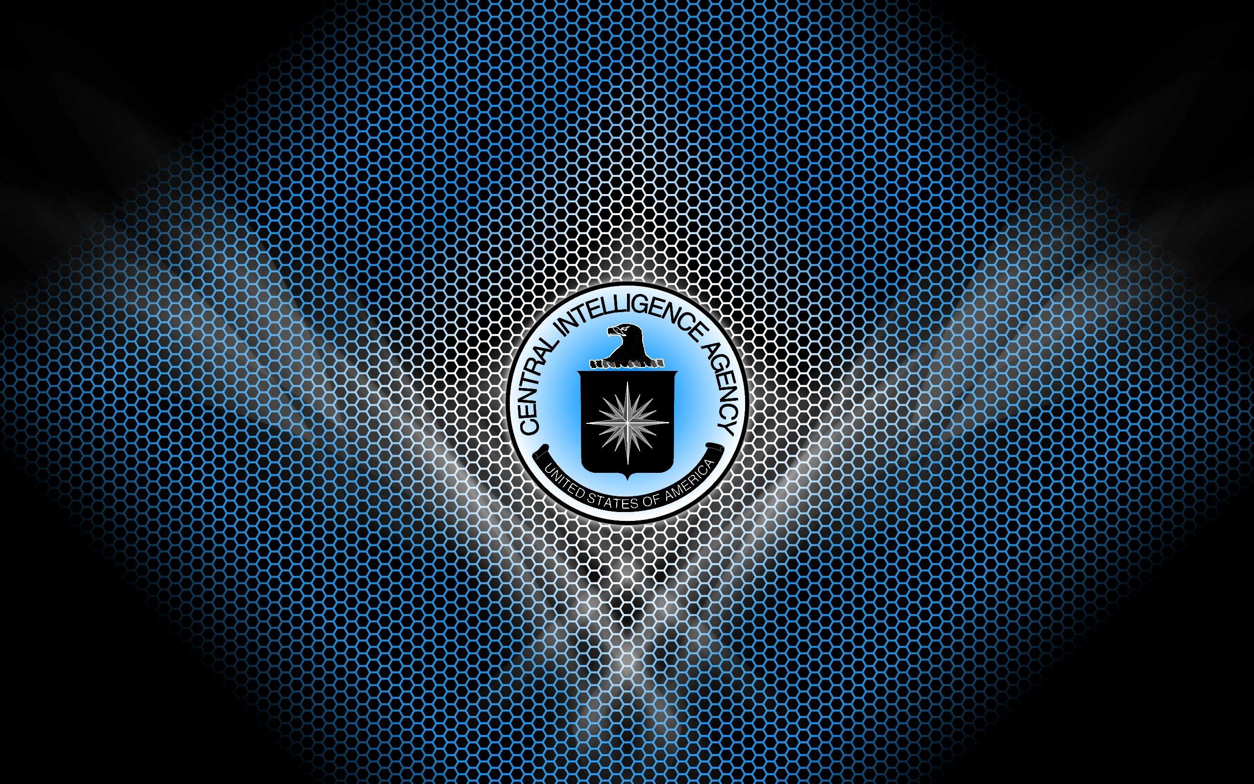 CIA Central Intelligence Agency crime usa america spy logo wallpaper 2560x1600