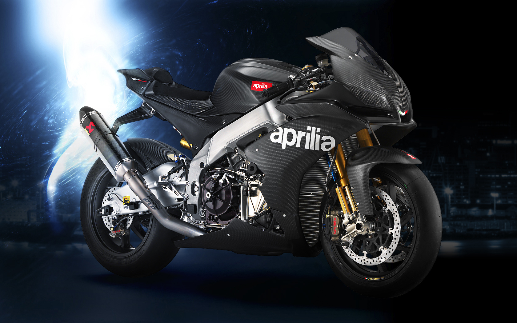 Aprilia RSV4 Wallpapers and Background Images   stmednet 1680x1050