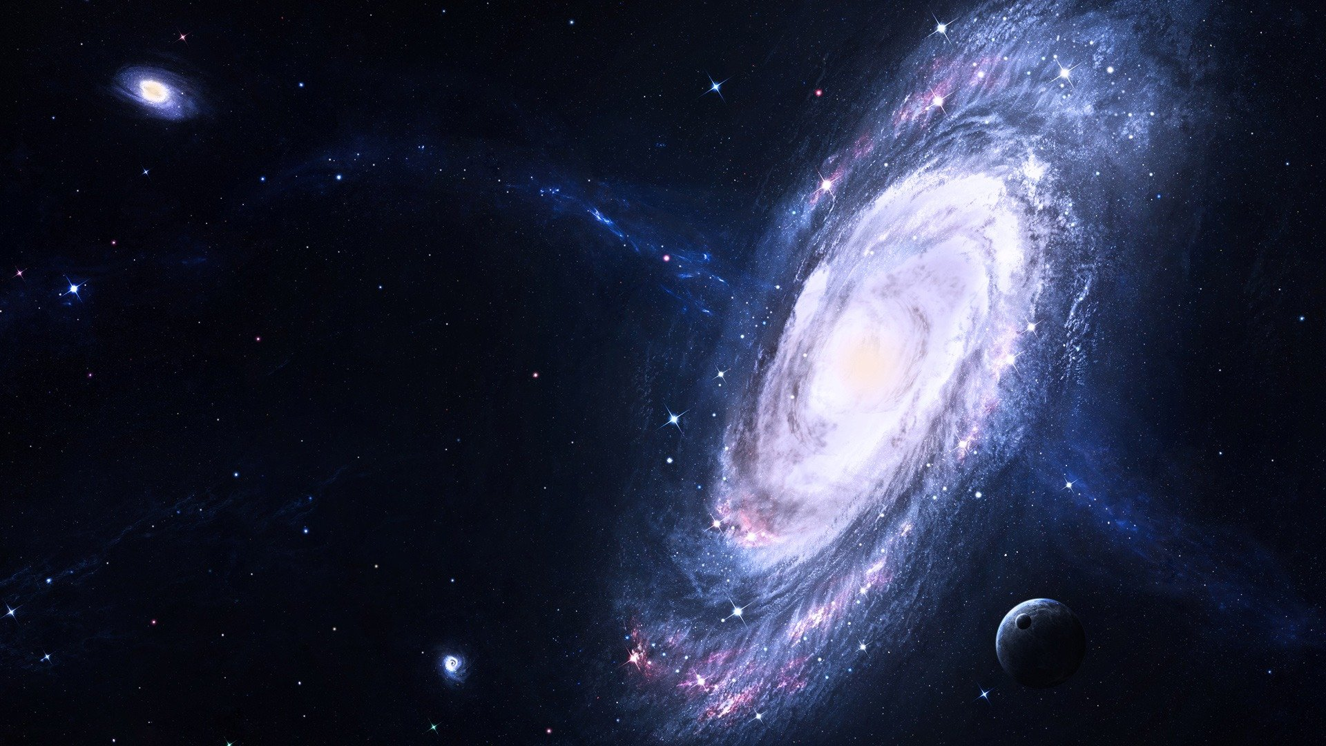 Free Download Astronomers Discover 7 New Galaxies Using Subaru Telescope 1920x1080 For Your Desktop Mobile Tablet Explore 50 Dark Matter Wallpaper Syfy Dark Matter Wallpaper Syfy Dark Matter Wallpapers