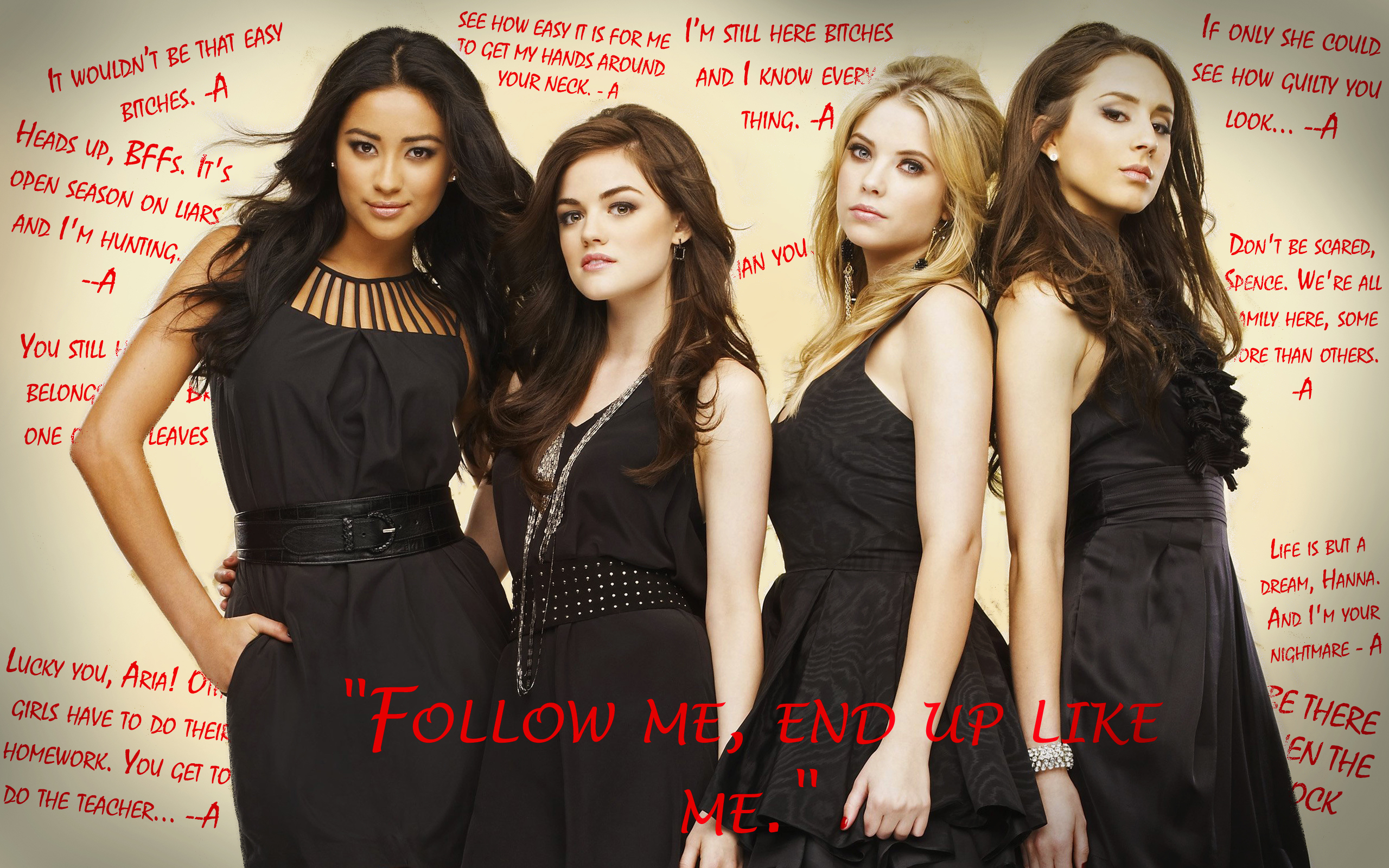 Pretty Little Liars Wallpapers 2 Alice amp Dew 2560x1600