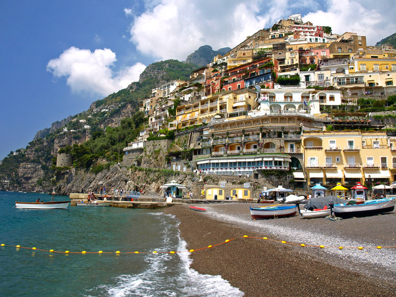how to get from campus to positano