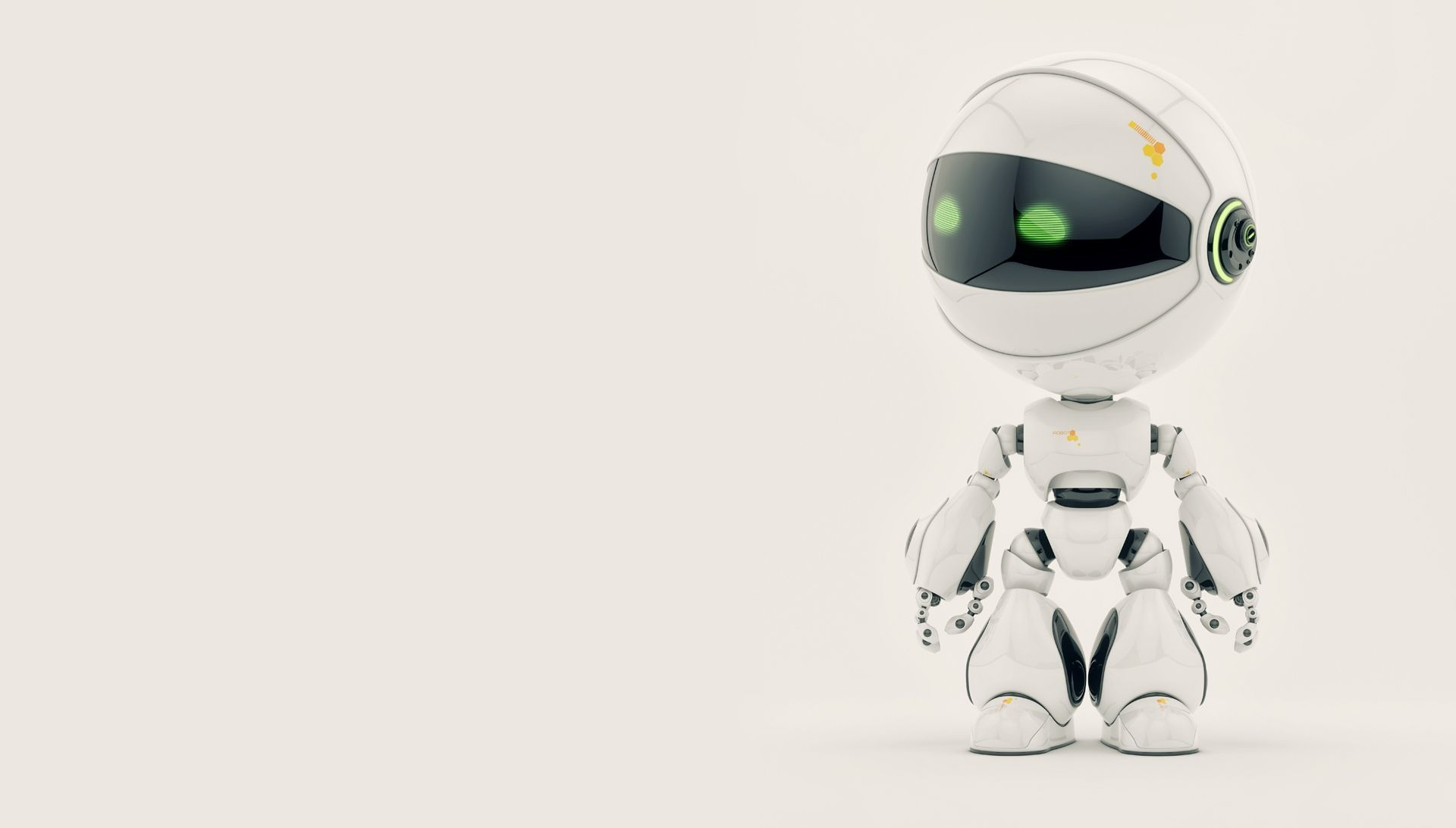 HD Robot Backgrounds wallpaperwiki Cute Robot Background PIC 1920x1092