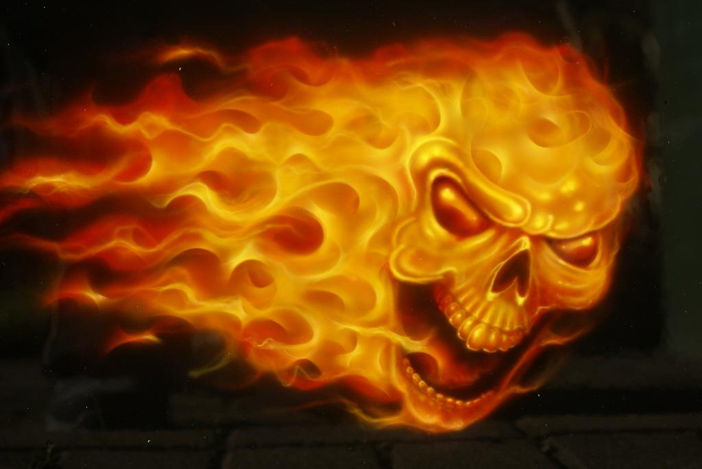 Fire Lioness Wolf Black 1024x685